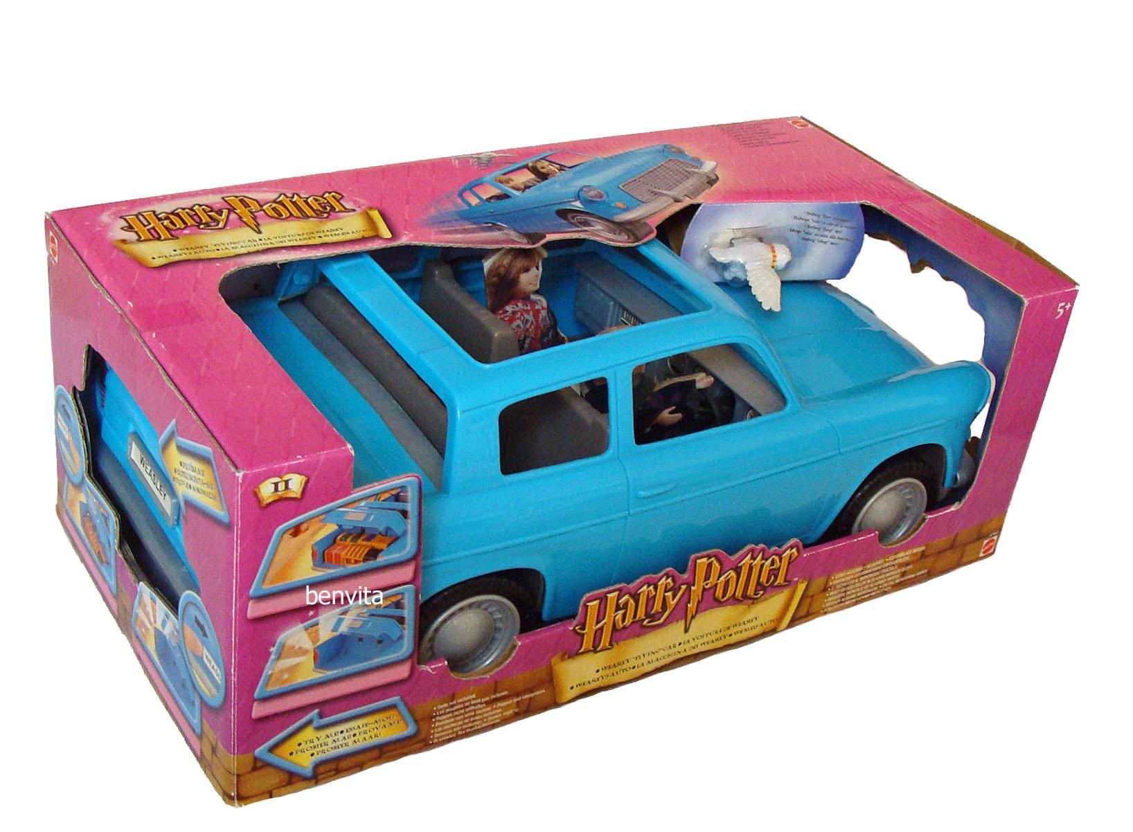 harry potter weasleys auto weasleys flying car 38 cm lang mattel 5 neu ebay. Black Bedroom Furniture Sets. Home Design Ideas