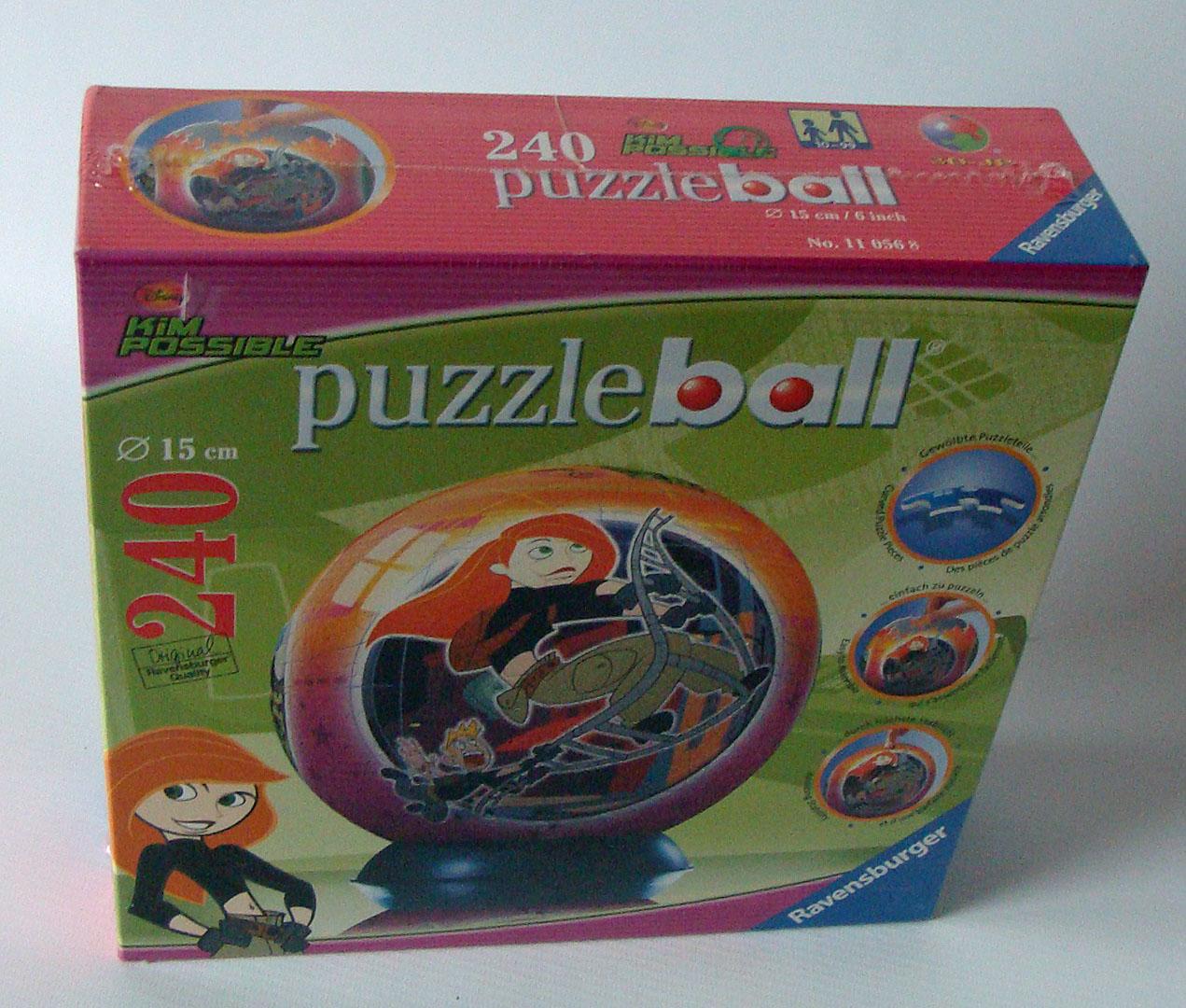 ravensburger puzzleball 110568 kim possible 240 teile 10. Black Bedroom Furniture Sets. Home Design Ideas