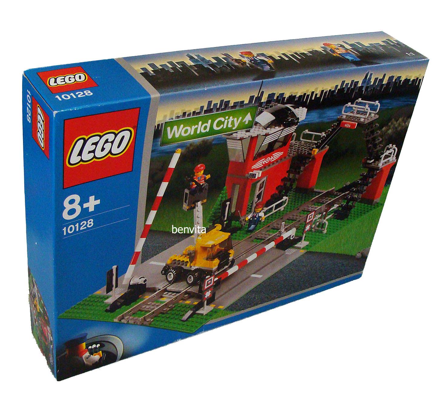 lego world city 10128 bahn bergang 327 teile 8 neu. Black Bedroom Furniture Sets. Home Design Ideas