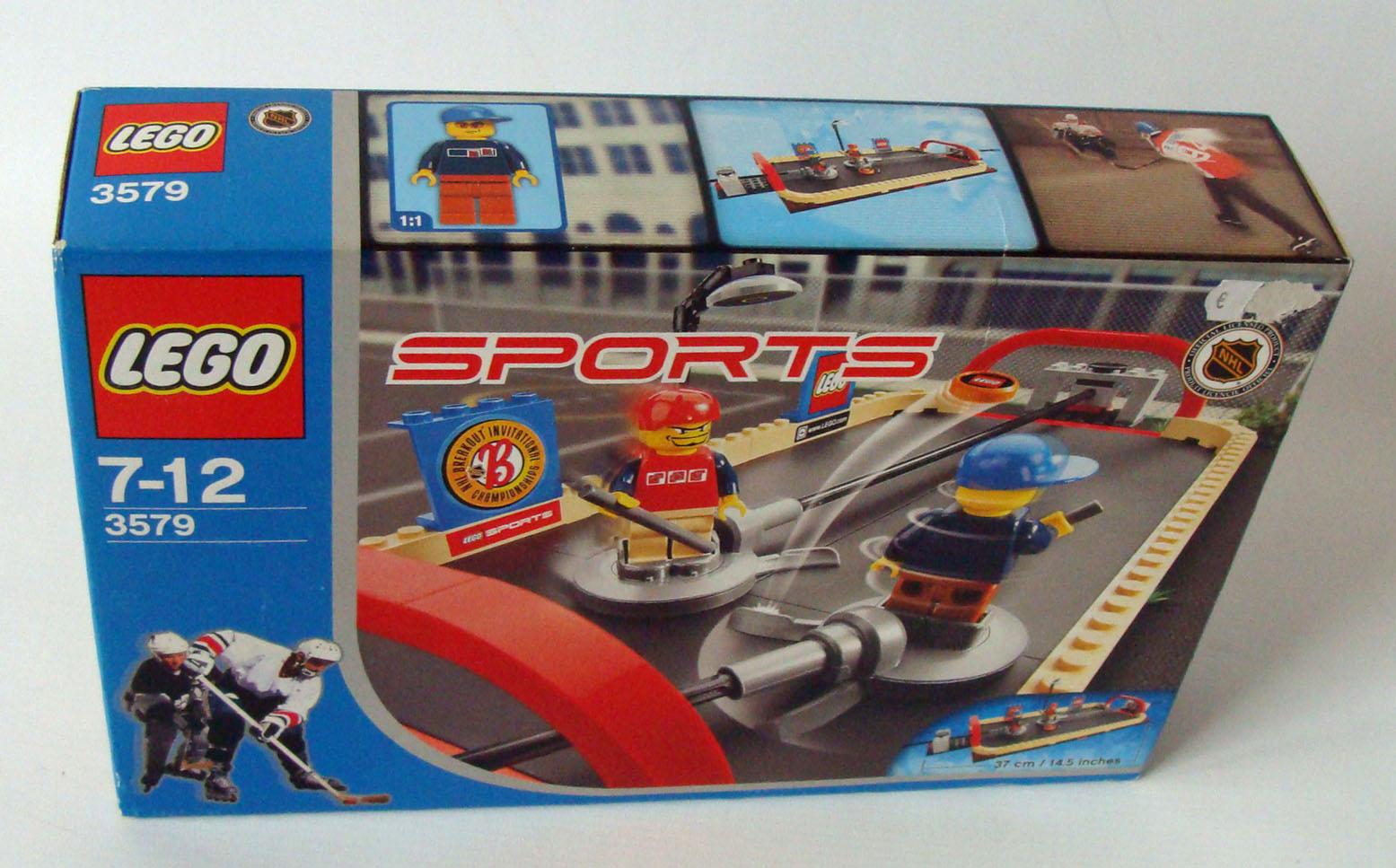 lego sports 3579 nhl street hockey 114 teile 7 12. Black Bedroom Furniture Sets. Home Design Ideas