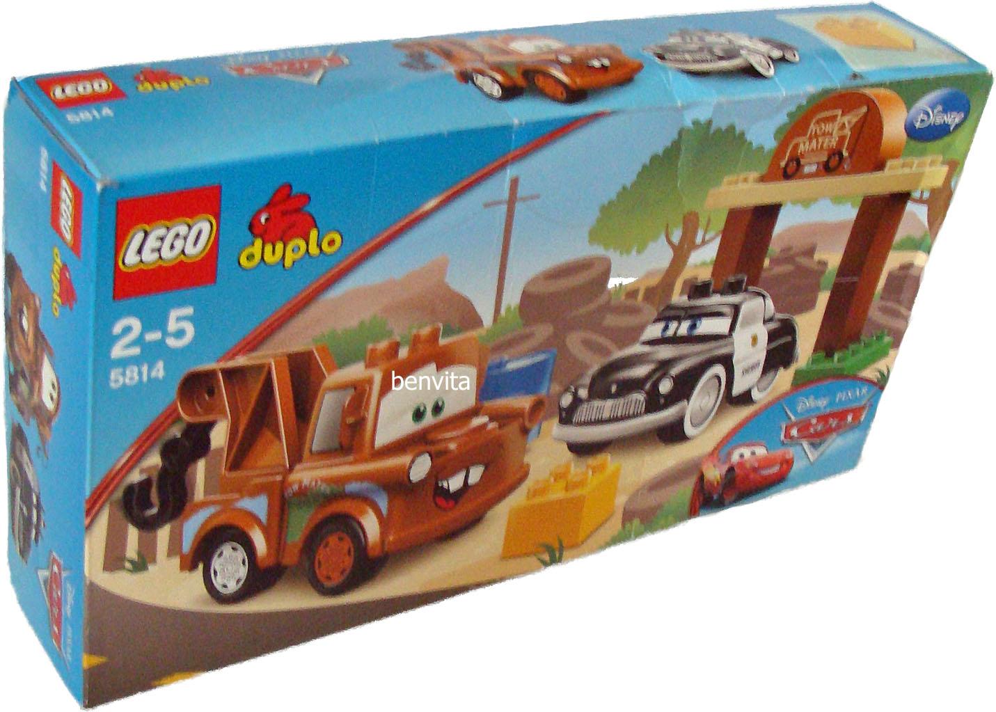 lego duplo cars hooks schrottplatz Ich verkaufe ein setlego duplo cars 5814 - hooks schrottplatz wie abgebildet mit ovp bespielt, jedoch in sehr gutem zustand und vollständig abholung in.