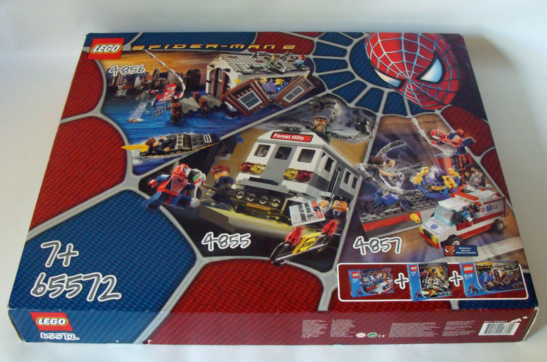 4 x 4 x 1 Lego--4855 2 Stück Weiß Keilschrägstein --- Invertiert
