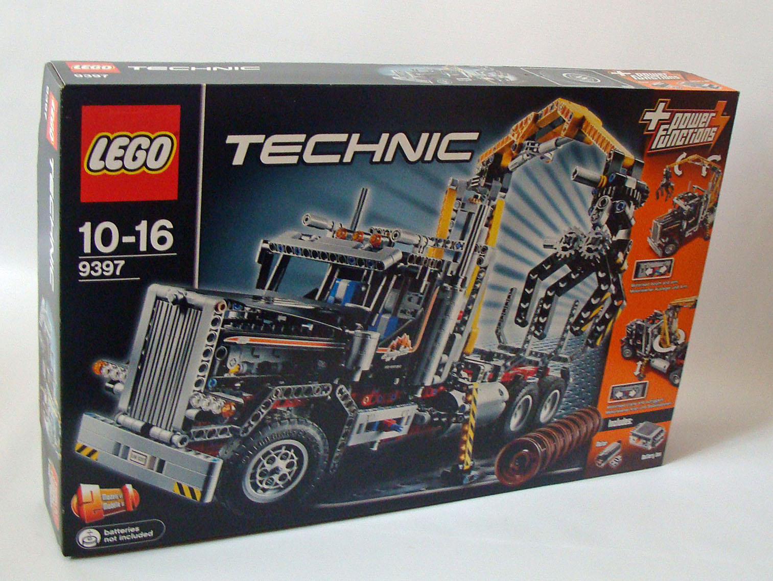 lego technic 9397 holztransporter 1308 teile 10 16. Black Bedroom Furniture Sets. Home Design Ideas