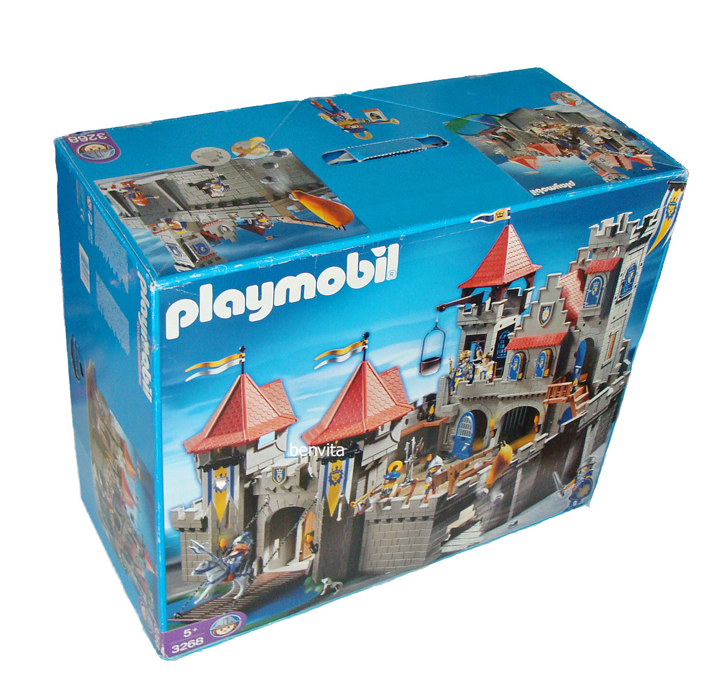 playmobil 3268 gro e k nigsritterburg 5 neu ebay. Black Bedroom Furniture Sets. Home Design Ideas