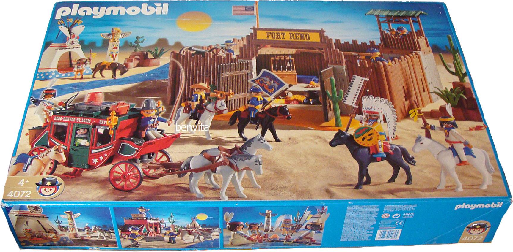 playmobil 4072 wild west fort 4 neu ebay. Black Bedroom Furniture Sets. Home Design Ideas